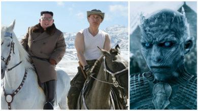 """Photo of Кім Чен Путін та Кім Чен Трамп на """"горбатій горі"""": соцмережі яскраво потролили Кіма та його Коня"""