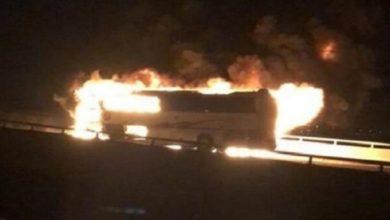 Photo of У Саудівській Аравії автобус зайнявся внаслідок ДТП: 35 загиблих – фото і відео