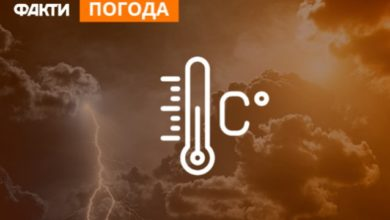 Photo of Похолодання до +13: прогноз погоди в Україні на вихідні (КАРТА)
