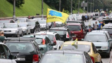 Photo of Рада має намір відтермінувати штрафи до 170 тис. грн для власників авто на єврономерах