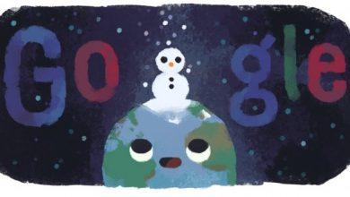 Photo of Google створив Doodle на честь дня зимового сонцестояння