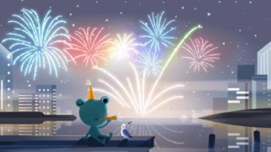 Photo of Google створив новий Doodle у переддень Нового року