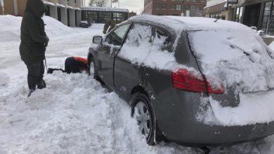 Photo of У деяких районах США через сильний снігопад закрили автомагістралі