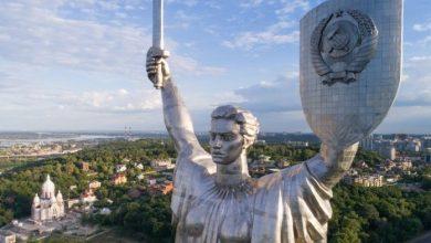 Photo of Демонтаж радянського герба зі щита Батьківщини-матері може перекинути статую