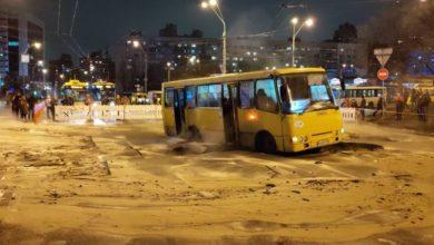 Photo of Оминайте Либідську: У Києві досі перекрито рух на вулиці Антоновича через прорив тепломереж