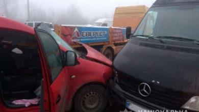 Photo of У Рівненській області через негоду зіткнулися сім автівок, є постраждалі
