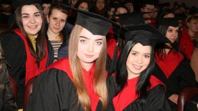 Photo of Як студентам НДУ ім. Гоголя вручали дипломи з відзнакою. Фото