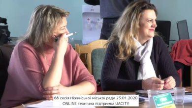 Photo of 66 сесія Ніжинської міської ради VII скликання 23.01.2020