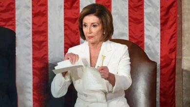 Photo of Скандал під час виступу Трампа у Конгресі: Ненсі Пелосі розірвала його промову