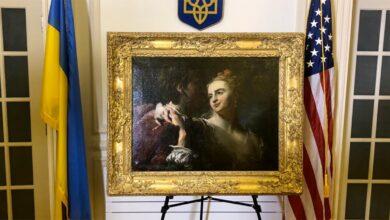 Photo of ФБР допомогло Україні повернути викрадену нацистами картину: фото