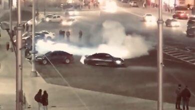 Photo of Водій BMW влаштував небезпечний дрифт у центрі Харкова: обурливе відео