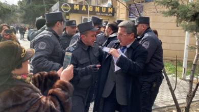 Photo of В Азербайджані поліція затримала понад 20 опозиціонерів