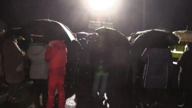 """Photo of У Тернопільській обл. місцеві вчора """"рятувалися"""" від евакуйованих з Китаю молебнем"""