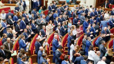 Photo of Порядок денний ВРУ: Нардепи заслухають звіт уряду та продовжать розглядати поправки до закону про землю