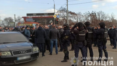 """Photo of У Харкові через будівництво доріг на """"Барабашово"""" сталася сутичка із застосуванням світлошумових гранат та газу"""