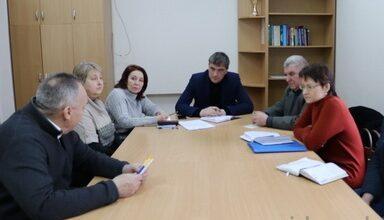 Photo of Відбулась щотижнева робоча нарада з керівниками медичних закладів міста