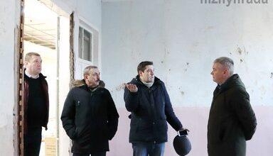 Photo of Перевірили стан виконання ремонтних робіт художнього відділу краєзнавчого музею