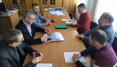 Photo of Робоча зустріч з проектантом щодо реконструкції підвальних приміщень Грецького магістрату