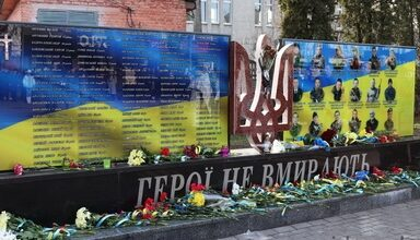 Photo of Ніжинці вшанували пам'ять загиблих на Майдані Героїв