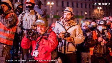 Photo of Майдан ніжинського журналіста і фотокореспондента Ігоря Волосянкіна. Відео
