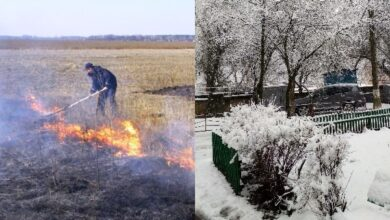 Photo of На вихідних хтось палив траву, а сьогодні відкидаємо сніг