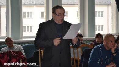 Photo of У Ніжині депутат перестав бути головою земельної комісії через свої висловлювання