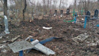 Photo of Бойовики обстріляли кладовище у Попасній