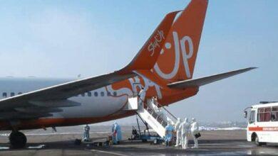 Photo of Літак SkyUp пройшов дезінфекцію після евакуації українців з Уханя
