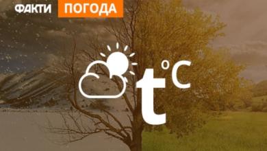Photo of Погода в Україні на 25 лютого (КАРТА)