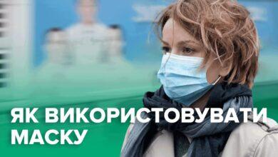 Photo of Як правильно носити маску проти коронавірусу: інструкція