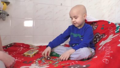 Photo of Онкохворі діти отримують подарунки за складні процедури у Черкасах: щемливе відео
