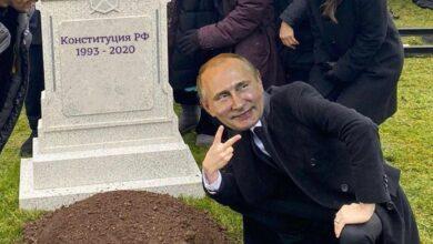Photo of Упиря на карантин посадили до 2036 року: соцмережі про вічне президенство Путіна