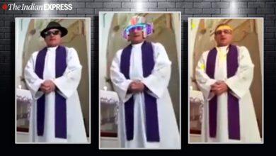 Photo of Священник в Італії ненароком провів веселу службу в різних масках: відео