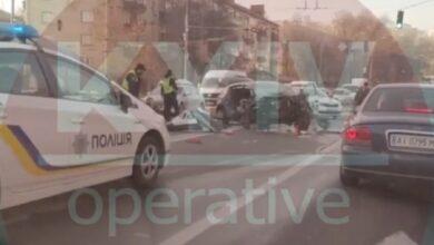 Photo of Серйозна ДТП у Києві: є постраждалі – відео