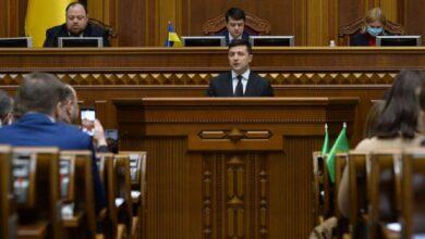 Photo of Зеленський звернувся до депутатів під час позачергового засідання Ради: головне