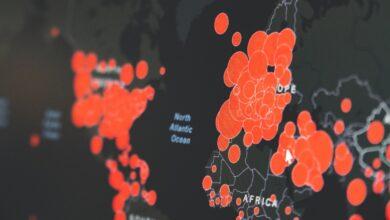Photo of РНБО розробила карту поширення коронавірусу в Україні та світі