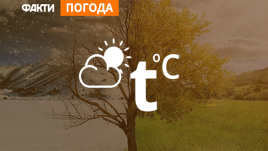 Photo of Погода в Україні на 9 серпня (КАРТА)