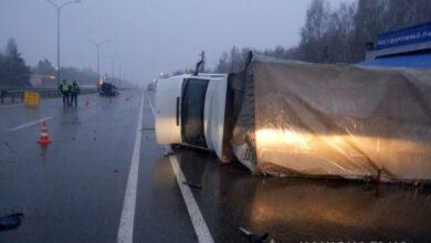 Photo of У Київській області в ДТП з вантажівкою постраждало семеро осіб