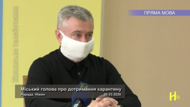Photo of Міський голова про дотримання карантину. Нарада. Ніжин 30.03.2020