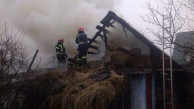 Photo of У Ніжині горіла господарча будівля