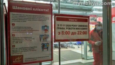 Photo of У найбільший супермаркет Ніжина не пускають без маски