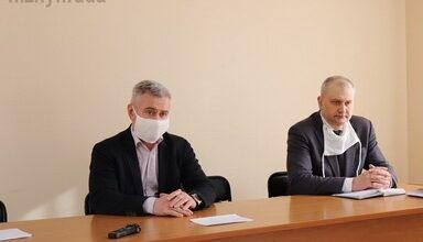 Photo of Відбулася зустріч міського голови з лікарями Ніжинської центральної міської лікарні ім. М. Галицького