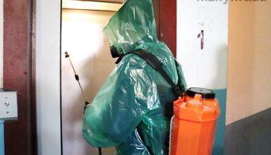 Photo of КП «Служба Єдиного Замовника» проводить обробку будинків дезінфікуючими засобами