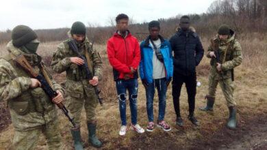 Photo of Громадянин Гамбії та двоє громадян Кот-д'Івуару намагалися незаконно потрапити з України до Польщі