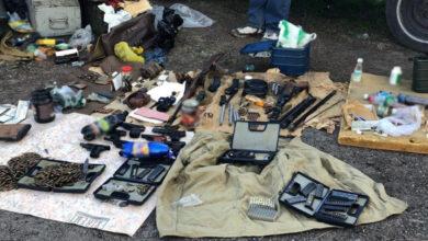 Photo of У Черкасах у місцевого жителя вилучено арсенал зброї