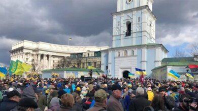 Photo of Ні капітуляції: у Києві проходить марш до Дня добровольця