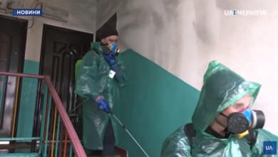 Photo of Як і чим дезінфікують під'їзди в Ніжині. Відео