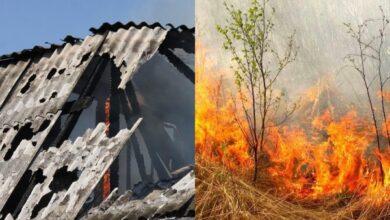 Photo of Палили суху траву поки не згоріла дача: чергова пожежа у Ніжині