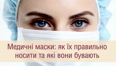 Photo of Медичні маски: як їх правильно носити та які вони бувають
