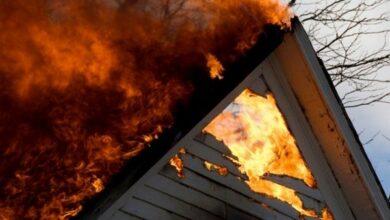 Photo of На Ніжинщині згоріли дві будівлі